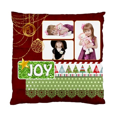 Xmas By Jo Jo   Standard Cushion Case (one Side)   Cwee4p10i3n7   Www Artscow Com Front