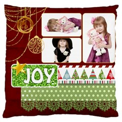 Xmas By Jo Jo   Large Cushion Case (two Sides)   Tsipj6dt9gbo   Www Artscow Com Back