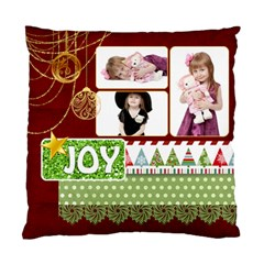 Xmas By Jo Jo   Standard Cushion Case (two Sides)   D86mfk6vxwor   Www Artscow Com Back