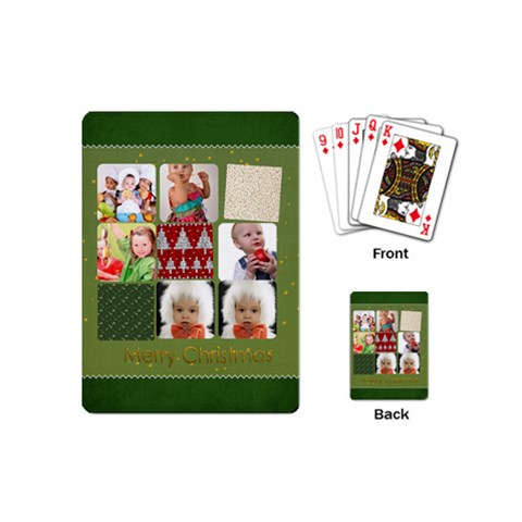 Xmas By Mac Book   Playing Cards (mini)   2xip0h6zsrd1   Www Artscow Com Back