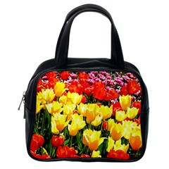 Colorful Tulips Classic Handbag (One Side) from ArtsNow.com Front