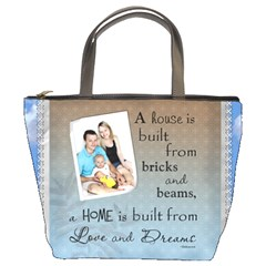 Love And Dreams Bucket Bag By Lil    Bucket Bag   5wmnt9ld8nc1   Www Artscow Com Front