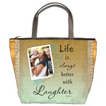 Laughter Bucket Bag