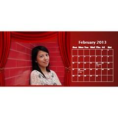Fanny2 By Posche Wong   Desktop Calendar 11  X 5    35vqbd9naukc   Www Artscow Com Feb 2013