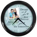 Dream Wall Clock - Wall Clock (Black)
