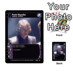 Star Wars Tcg I By Jaume Salva I Lara   Multi Purpose Cards (rectangle)   6ymyslg0hjpb   Www Artscow Com Front 53