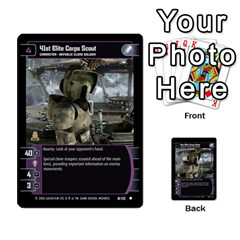 Star Wars Tcg I By Jaume Salva I Lara   Multi Purpose Cards (rectangle)   6ymyslg0hjpb   Www Artscow Com Front 54
