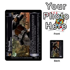 Star Wars Tcg I By Jaume Salva I Lara   Multi Purpose Cards (rectangle)   6ymyslg0hjpb   Www Artscow Com Front 8
