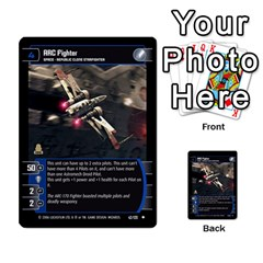 Star Wars Tcg I By Jaume Salva I Lara   Multi Purpose Cards (rectangle)   6ymyslg0hjpb   Www Artscow Com Front 14