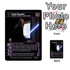 Star Wars Tcg I By Jaume Salva I Lara   Multi Purpose Cards (rectangle)   6ymyslg0hjpb   Www Artscow Com Front 15