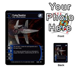 Star Wars Tcg I By Jaume Salva I Lara   Multi Purpose Cards (rectangle)   6ymyslg0hjpb   Www Artscow Com Front 19