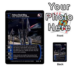 Star Wars Tcg I By Jaume Salva I Lara   Multi Purpose Cards (rectangle)   6ymyslg0hjpb   Www Artscow Com Front 20