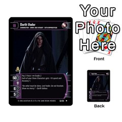 Star Wars Tcg I By Jaume Salva I Lara   Multi Purpose Cards (rectangle)   6ymyslg0hjpb   Www Artscow Com Front 3