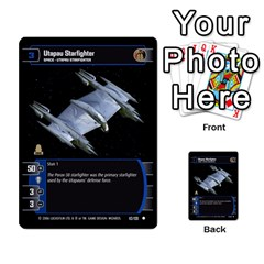 Star Wars Tcg I By Jaume Salva I Lara   Multi Purpose Cards (rectangle)   6ymyslg0hjpb   Www Artscow Com Front 23