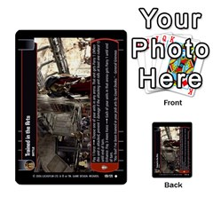 Star Wars Tcg I By Jaume Salva I Lara   Multi Purpose Cards (rectangle)   6ymyslg0hjpb   Www Artscow Com Front 26
