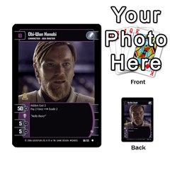 Star Wars Tcg I By Jaume Salva I Lara   Multi Purpose Cards (rectangle)   6ymyslg0hjpb   Www Artscow Com Front 36
