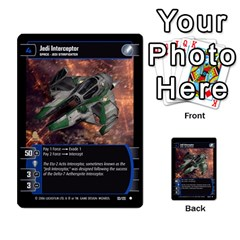 Star Wars Tcg I By Jaume Salva I Lara   Multi Purpose Cards (rectangle)   6ymyslg0hjpb   Www Artscow Com Front 43
