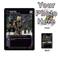 Star Wars Tcg I By Jaume Salva I Lara   Multi Purpose Cards (rectangle)   6ymyslg0hjpb   Www Artscow Com Front 49