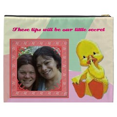 Duck Cosmetic Bag (xxxl) 2 Sides By Kim Blair   Cosmetic Bag (xxxl)   Gg4bo7pq1640   Www Artscow Com Back