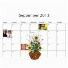 Pch2013 By Julia   Wall Calendar 11  X 8 5  (12 Months)   Znmcts3mvsxu   Www Artscow Com Sep 2013