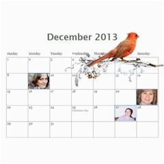 Pch2013 By Julia   Wall Calendar 11  X 8 5  (12 Months)   Znmcts3mvsxu   Www Artscow Com Dec 2013