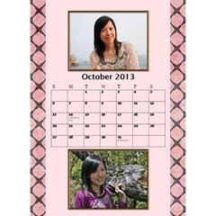 Fanny3 By Posche Wong   Desktop Calendar 6  X 8 5    Z131xv99kxmt   Www Artscow Com Oct 2013