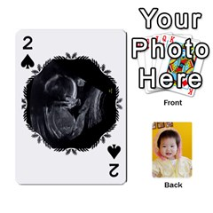 1 By Jenqyeu1   Playing Cards 54 Designs (rectangle)   F3u68ygw80e4   Www Artscow Com Front - Spade2