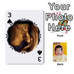 1 By Jenqyeu1   Playing Cards 54 Designs (rectangle)   F3u68ygw80e4   Www Artscow Com Front - Spade3