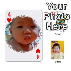 1 By Jenqyeu1   Playing Cards 54 Designs (rectangle)   F3u68ygw80e4   Www Artscow Com Front - Heart4
