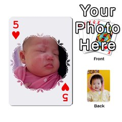 1 By Jenqyeu1   Playing Cards 54 Designs (rectangle)   F3u68ygw80e4   Www Artscow Com Front - Heart5
