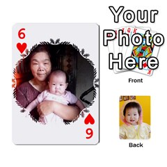 1 By Jenqyeu1   Playing Cards 54 Designs (rectangle)   F3u68ygw80e4   Www Artscow Com Front - Heart6