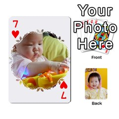 1 By Jenqyeu1   Playing Cards 54 Designs (rectangle)   F3u68ygw80e4   Www Artscow Com Front - Heart7