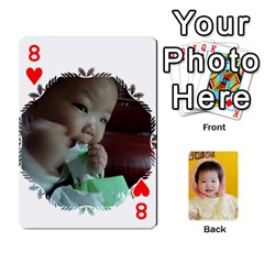 1 By Jenqyeu1   Playing Cards 54 Designs (rectangle)   F3u68ygw80e4   Www Artscow Com Front - Heart8