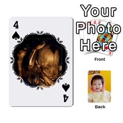 1 By Jenqyeu1   Playing Cards 54 Designs (rectangle)   F3u68ygw80e4   Www Artscow Com Front - Spade4