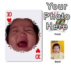 1 By Jenqyeu1   Playing Cards 54 Designs (rectangle)   F3u68ygw80e4   Www Artscow Com Front - Heart10