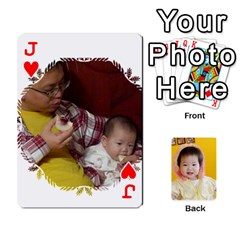 Jack 1 By Jenqyeu1   Playing Cards 54 Designs (rectangle)   F3u68ygw80e4   Www Artscow Com Front - HeartJ