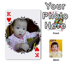 King 1 By Jenqyeu1   Playing Cards 54 Designs (rectangle)   F3u68ygw80e4   Www Artscow Com Front - HeartK