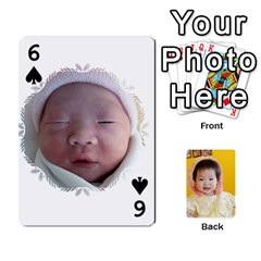 1 By Jenqyeu1   Playing Cards 54 Designs (rectangle)   F3u68ygw80e4   Www Artscow Com Front - Spade6
