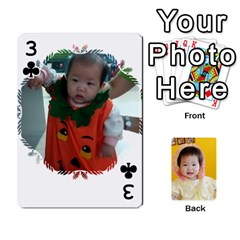 1 By Jenqyeu1   Playing Cards 54 Designs (rectangle)   F3u68ygw80e4   Www Artscow Com Front - Club3
