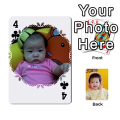 1 By Jenqyeu1   Playing Cards 54 Designs (rectangle)   F3u68ygw80e4   Www Artscow Com Front - Club4