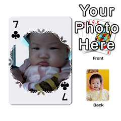 1 By Jenqyeu1   Playing Cards 54 Designs (rectangle)   F3u68ygw80e4   Www Artscow Com Front - Club7