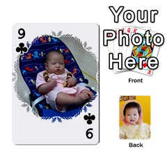 1 By Jenqyeu1   Playing Cards 54 Designs (rectangle)   F3u68ygw80e4   Www Artscow Com Front - Club9