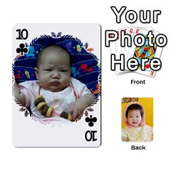 1 By Jenqyeu1   Playing Cards 54 Designs (rectangle)   F3u68ygw80e4   Www Artscow Com Front - Club10