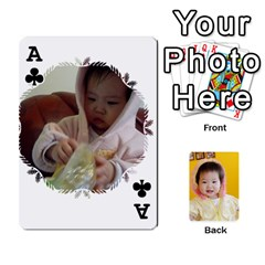 Ace 1 By Jenqyeu1   Playing Cards 54 Designs (rectangle)   F3u68ygw80e4   Www Artscow Com Front - ClubA