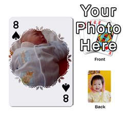 1 By Jenqyeu1   Playing Cards 54 Designs (rectangle)   F3u68ygw80e4   Www Artscow Com Front - Spade8