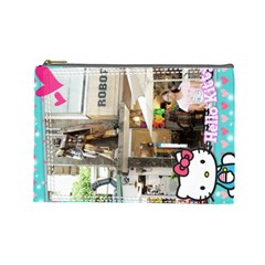 By 林秀玲   Cosmetic Bag (large)   2crnhmoa7co7   Www Artscow Com Front