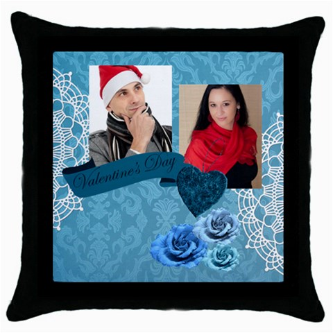 Love By Debe Lee   Throw Pillow Case (black)   Wpvqtr0625kw   Www Artscow Com Front