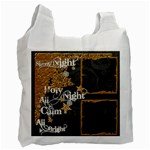 Silent Night Recycle Bag - Recycle Bag (One Side)