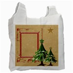 Winter Trees Recycle Bag - Recycle Bag (One Side)