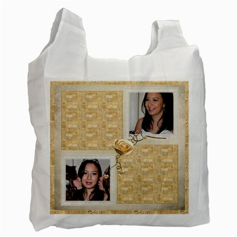 Rosy  Recycle Bag By Catvinnat   Recycle Bag (one Side)   0hp2zyussw9t   Www Artscow Com Front